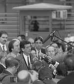 Josep Maria Sala, ingressant a presó pel cas Filesa. Te'n recordes, Zaragoza?