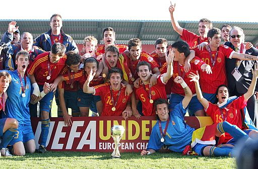 España, campeona de Europa sub-17 de fútbol