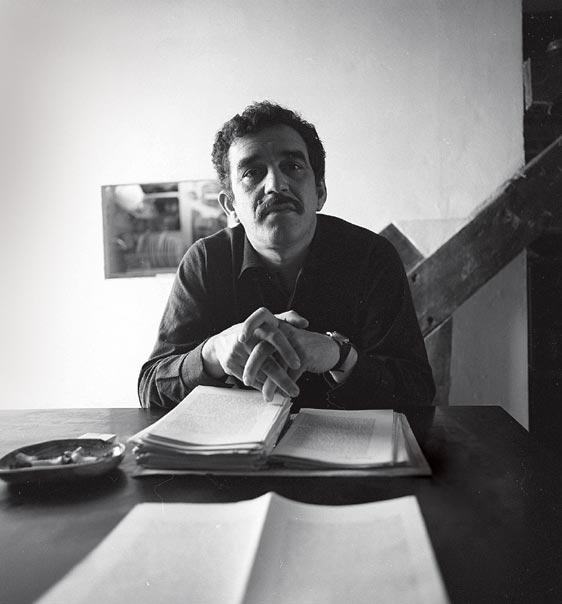 García Márquez corrigiendo la traducción francesa de 'Cien años de soledad'