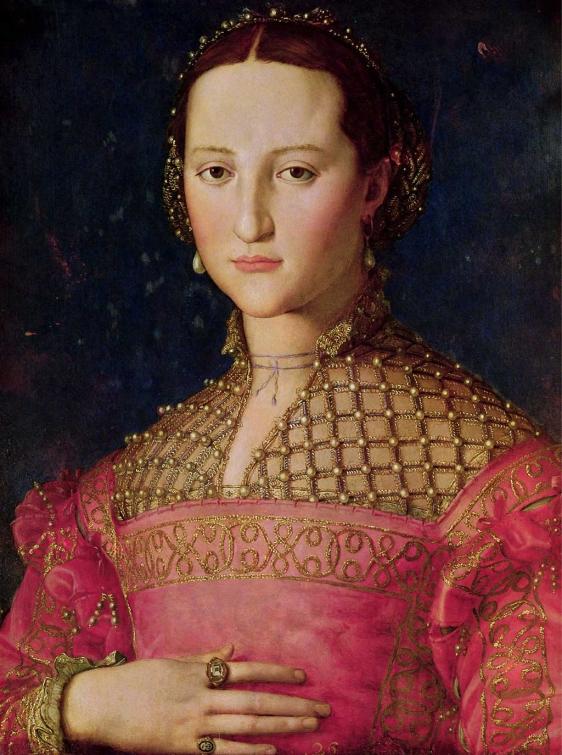 'Retrato de Eleonora de Toledo', de Agnolo Bronzino, perteneciente a la Galería Narodni de Praga (República Checa). Esta mujer fue esposa de Cosimo I de Medici, Gran Duque de la Toscana. | Efe