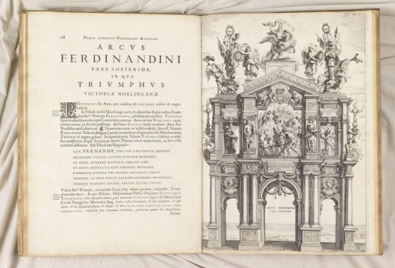 Foto: Jean Gaspard Gevaerts (1593-1666). Pompa introitus honori serenissimi principis Ferdinandi Austriaci Hispaniarum infantis. Amberes. 1641