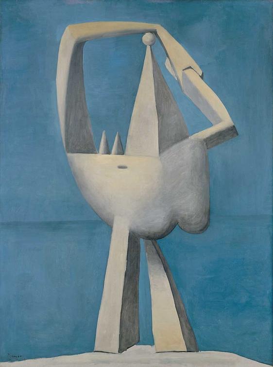 Picasso contra Picasso. 'Desnudo al lado del mar', 1929. Metropolitan Museum of Art, Nueva York.