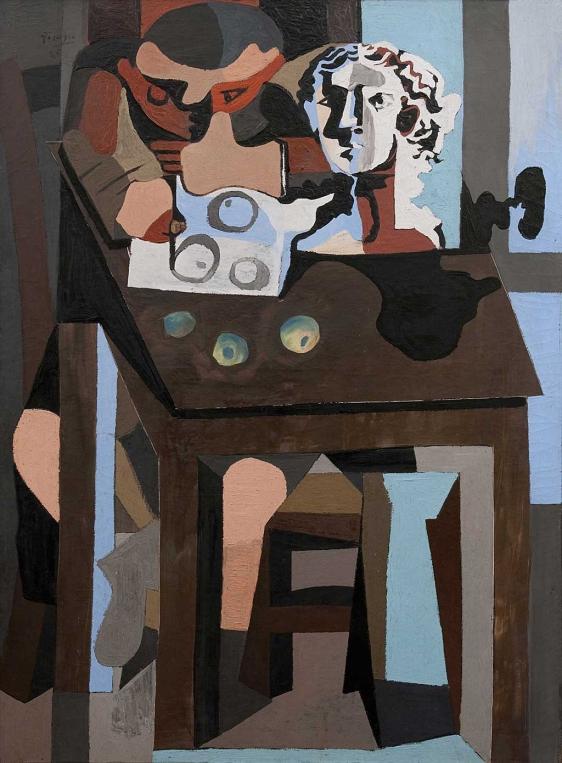 Picasso contra Picasso. 'Lección de dibujo' 1925. Coleccionista privado.
