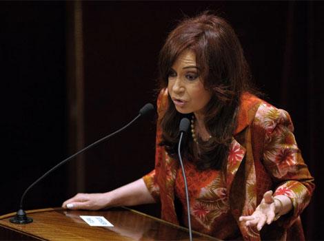 Cristina Kirchner, cada vez más sola