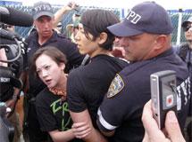 Takeru Kobayashi es arrestado. | AP