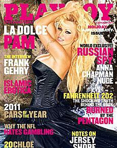 La portada de Playboy.