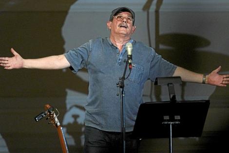 Silvio Rodríguez en una actuación el pasado año en el Carnegie Hall de Nueva York.