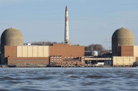 La central nuclear de Indian Point. | C.F.