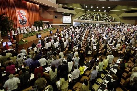 Inicio del VI Congreso del Partido Comunista en La Habana. | AP