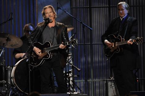 Jeff Bridges en una actuación en los Spirit Awards. I AP