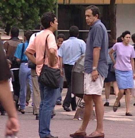 Sebastián Martínez Ferraté, en el año 2000, en tierras panameñas. | EL MUNDO