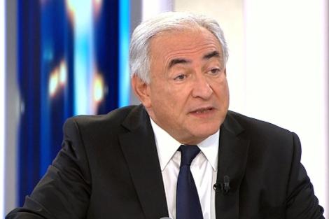 El director del FMI, Dominique Strauss-Kahn. | Afp