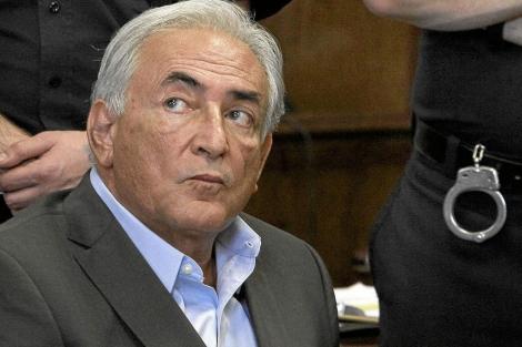 Dominique Strauss-Kahn en la corte de Nueva York. I AP