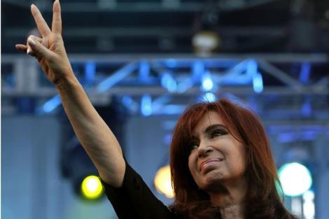 Cristina Fernández. I Reuters