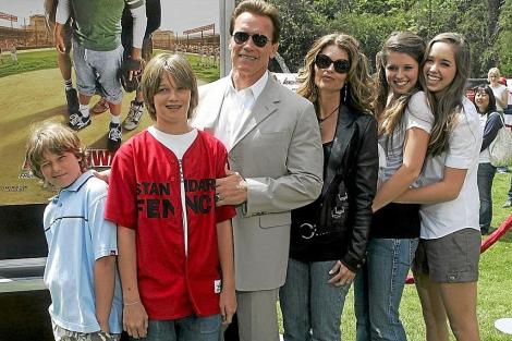 Foto de archivo de la familia Schwarzenegger. I ELMUNDO.es