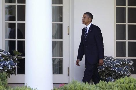 El presidente Obama en la Casa Blanca el pasado 3 de junio. | AP