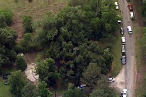 Imágen aérea del lugar donde se han encontrado los cuerpos. I AP