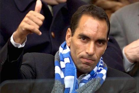 El ex futbolista Edmundo, en enero de 2001 en Roma. | Efe
