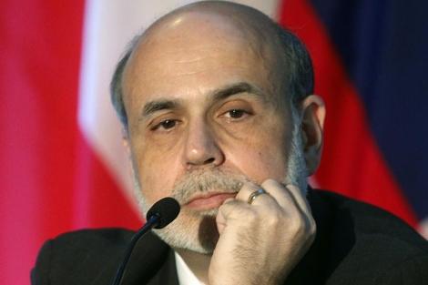 El presidente de la Fed, Ben Bernanke, en una conferencia en Atlanta en junio de 2011.   AP
