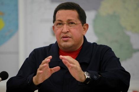 Hugo Chávez en el Consejo de Ministros celebrado este jueves. | Reuters