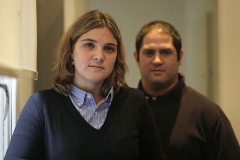 Los hermanos Noble Herrera. | AP