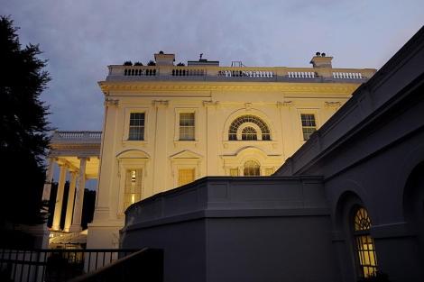 Vista de la Casa Blanca en Washington este viernes 29 de julio. | Efe