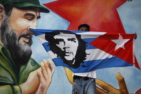 Imagen de una fiesta por el cumpleaños de Fidel en Nicaragua.| Ap