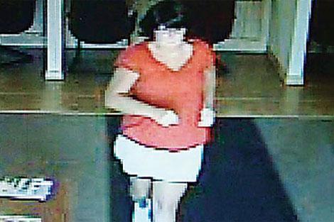 Imagen de la bandida en agosto de 2011. | AP
