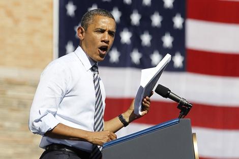 El presidente de Estados Unidos, Barack Obama, durante un evento en Denver. | Reuters