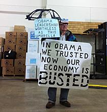 John Strong, seguidor de Romney. | E. S.
