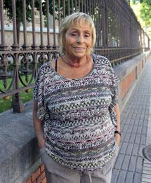 Sylvina Walger en Madrid.  Efe
