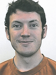James Holmes. | Universidad de Colorado