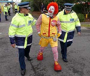 Imágenes graciosas de Ronald McDonald