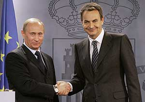 Zapatero and Putin