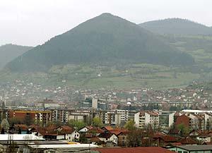 Pirámides en Bosnia