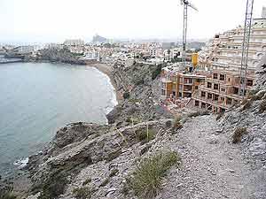 playas destruidas