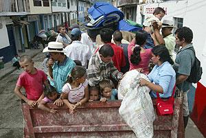 Desplazados internos en Colombia. (Foto: REUTERS)