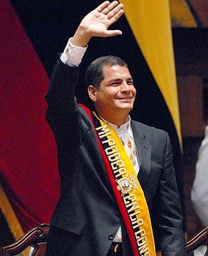 Elecciones en Ecuador: Correa 61% (Boca de Urna)