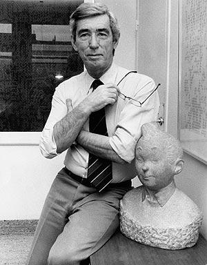 Hergé, en 1980, tres años antes de su fallecimiento: Foto: EFE)