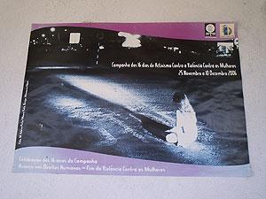 Cartel de una campaña contra la violéncia de género. (Foto: Ana Bravo)