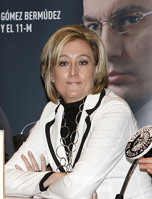 La periodista Elisa Beni, esposa del juez Javier Gmez Bermdez. (Foto: EFE)