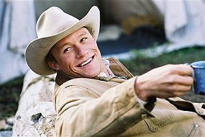 Heath Ledger en el papel de Ennis Del Mar en 'Brokeback Mountain. (Foto: AP)