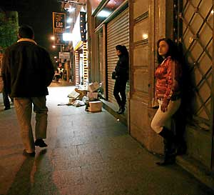 putas paris callejeros prostitutas