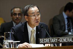 El Secretario General de Naciones Unidas, Ban Ki Moon. (Foto: EFE)