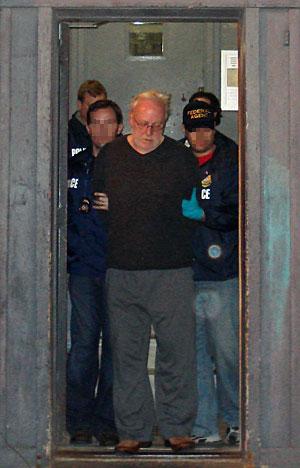 Corliss, tras ser detenido. (Foto: REUTERS   U.S. Immigration and Customs Enforcement)