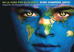 Imagen de la campaña de comercio justo.