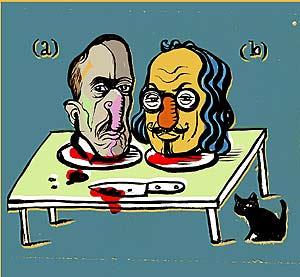 Góngora y Quevedo. (Ilustración: Ulises)