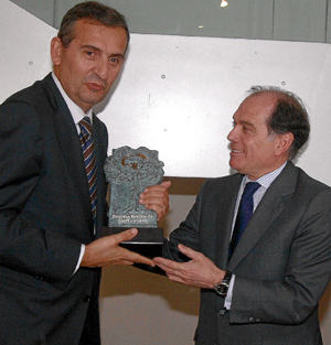 Grupo INDAL recibiendo el premio