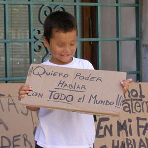 Èl también quiere hablar español
