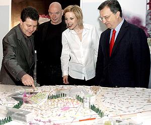 Proyecto de urbanización del Barrio Avanzado de Jean Nouvel en Toledo